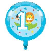 Parti Yıldızı - 1 Olmak Eğlenceli Folyo Balon