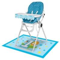 Parti Yıldızı - 1 Olmak Eğlenceli Mama Sandalyesi Kiti