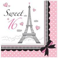 Parti Yıldızı - 16 Yaş Paris Partisi 16 lı Peçete