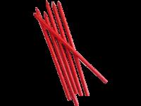 Parti Yıldızı - Mum - 20 cm Kırmızı