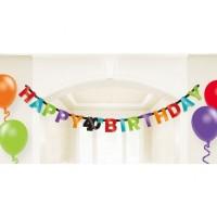 Parti Yıldızı - 40 Yaş Happy Birthday Harf Afiş