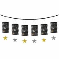 Parti Yıldızı - Altın Varaklı Sıralı Fener 3,6 metre