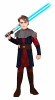 Parti Yıldızı - Anakin Skywalker Kostümü Star Wars