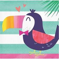 Parti Yıldızı - Ananas, Flamingo ve Arkadaşları16 lı Küçük Peçete