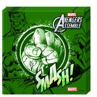 Parti Yıldızı - Avengers Hulk Kağıt Peçete 20 Adet