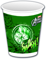 Parti Yıldızı - Avengers Hulk Plastik Bardak 8 Adet