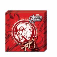 Parti Yıldızı - Avengers Ironman Kağıt Peçete 20 Adet