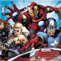 Parti Yıldızı - Avengers Mighty 20 li Peçete