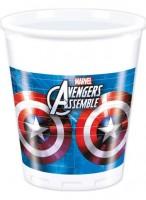 Parti Yıldızı - Avengers Multi Heroes 8 li Bardak