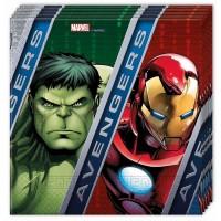 Parti Yıldızı - Avengers Power 20 li Peçete