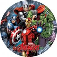 Parti Yıldızı - Avengers Power 8 li Tabak