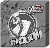 Parti Yıldızı - Avengers Thor Kağıt Peçete 20 Adet