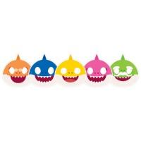 Parti Yıldızı - Baby Shark 6 lı Maske