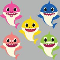Parti Yıldızı - Baby Shark Figür Dekor Set