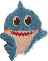 Parti Yıldızı - Baby Shark Şekilli Pinyata Mavi Renk