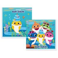 Parti Yıldızı - Baby Shark Peçete