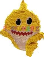 Parti Yıldızı - Baby Shark Şekilli Pinyata Sarı Renk