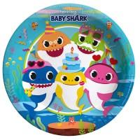 Parti Yıldızı - Baby Shark Tabak
