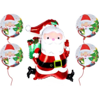 Parti Yıldızı - Balon Seti Noel Baba