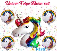 Parti Yıldızı - Balon Seti Unicorn