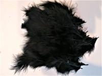 Parti Yıldızı - Balon Tüyü Siyah