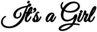 Parti Yıldızı - Balon Yazısı - Its a Girl