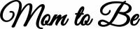 Parti Yıldızı - Balon Yazısı - Mom To Be