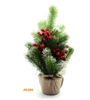 Parti Yıldızı - Berry Dekorlu Küçük Çam Ağacı 40 cm