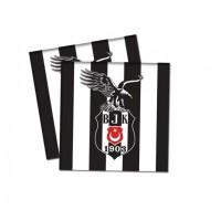 Parti Yıldızı - Beşiktaş 16 lı Kağıt Peçete