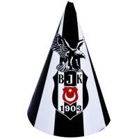 Parti Yıldızı - Beşiktaş 6 lı Külah Şapka
