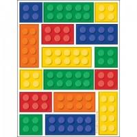 Parti Yıldızı - Block Partisi Sticker 4 lü paketlerde