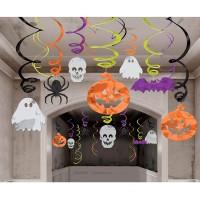 Parti Yıldızı - Cadılar Bayramı Renkli Süs Dalgaları 30 Adet