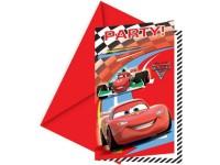 Parti Yıldızı - Cars 2 Davetiye 6 adet