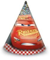 Parti Yıldızı - Cars 3 Şapka 6 Adet