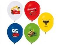 Parti Yıldızı - Cars Paketli Latex Balon 6 Adet