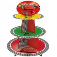 Parti Yıldızı - Cars Formula Cupcake Standı