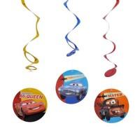 Parti Yıldızı - Cars Neon 3 lü Asma Süs