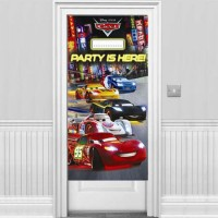 Parti Yıldızı - Cars Neon Kapı Afişi