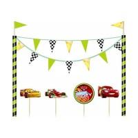 Parti Yıldızı - Cars Pasta Dekoru