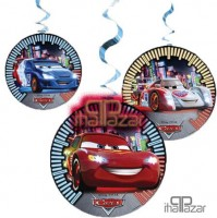 Parti Yıldızı - Cars Rsn İpli Süs 3 Adet