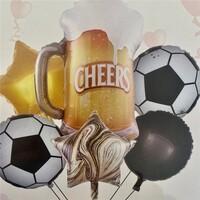Parti Yıldızı - Cheers Folyo Balon Seti 6lı