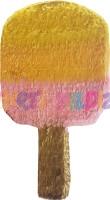 Parti Yıldızı - Çubuklu Dondurma Şekilli Pinyata
