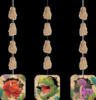 Parti Yıldızı - Dinozor Land 3 lü asma süs
