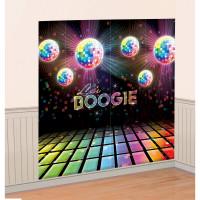 AMSCAN - Disco Partisi Duvar Dekoru 82,5x165cm