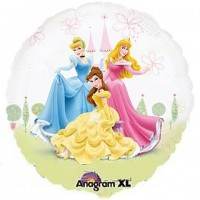 Parti Yıldızı - Disney Prensesleri 26inç Folyo Balon