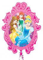Parti Yıldızı - SShape Disney Prensesleri Çerçeve Folyo Balon