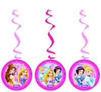 Parti Yıldızı - Disney Prensesleri İpli Süs 3 Adet