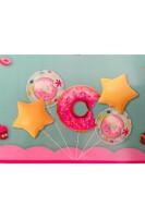 Parti Yıldızı - Donut Folyo Balon Seti 5li