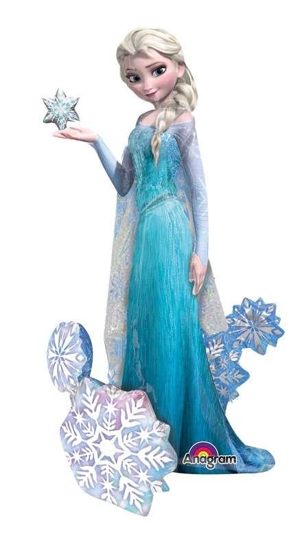 Elsa Karlar Kraliçesi Yürüyen Balon Frozen Karlar ülkesi Yürüyen