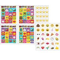 Parti Yıldızı - Emojiler BİNGO Oyunu 10 Kişilik